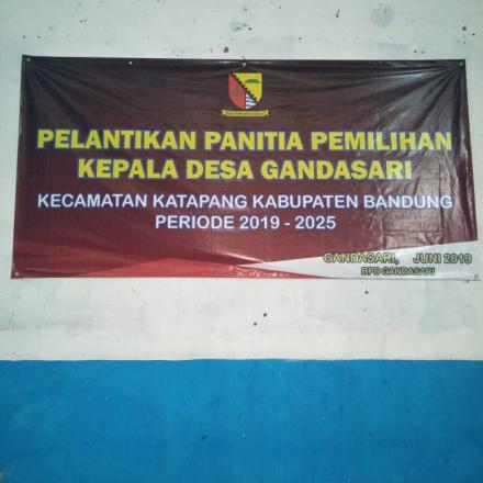 Pelantikan P2KD Gandasari